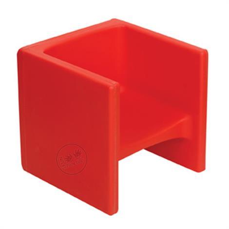 Childrens Factory Cube Chair,Almond,Each,CF910-015
