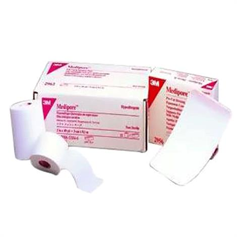 3M Medipore Hypoallergenic Soft Cloth Surgical Tape,2 x 2 yds.,Each,2962S