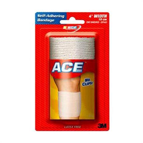 3M Ace Athletic Bandage,4 Inch Athletic Bandage,Each,203686