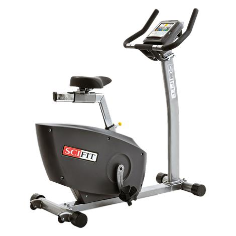 """SciFit ISO1000 Forward Only Upright Exercise Bike,58"""" L x 24"""" W x 53"""" H,Each,44119"""