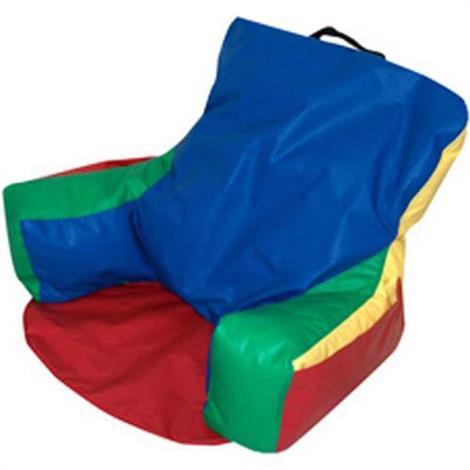 Childrens Factory Sit-N-Read Bean Bag,Blue,Each,CF610-059