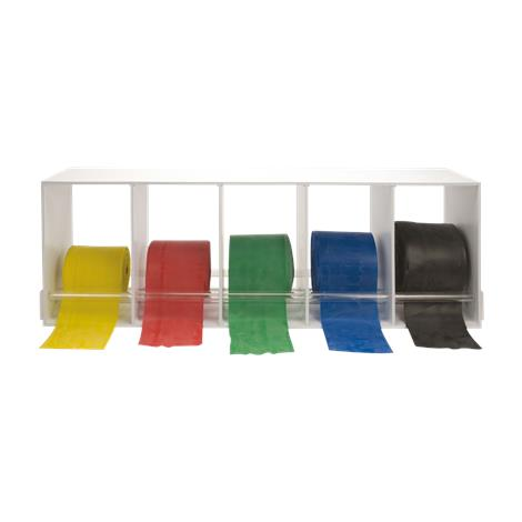 CanDo Universal Exercise Band Plastic Rack,Holds 5 Rolls,Each,#10-5104