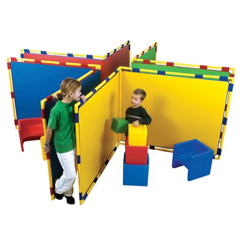 Childrens Factory Big Screen Right Angle Panel,Blue,Each,CF900-533B