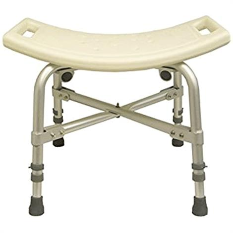 ConvaQuip Bariatric Shower Stool,With Back,Each,1701B
