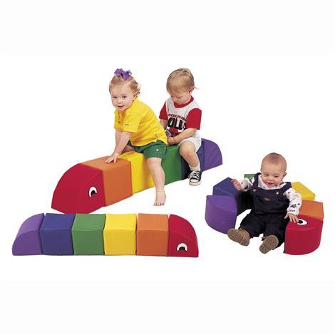 """Childrens Factory Soft and Sturdy Inchworm,Baby Inchworm,36"""" x 6"""" x 6"""",Each,CF321-902"""