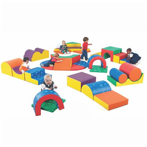 Childrens Factory Gross Motor Play Group,Set of 28Pcs,Each,CF710-113PT
