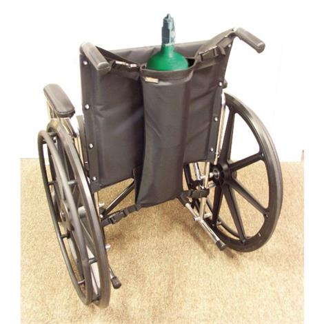 "Adjustable Oxygen Tank Holder For Wheelchair,26-1/2"" x 7-1/2"" x 4-3/4"",Each,926543"