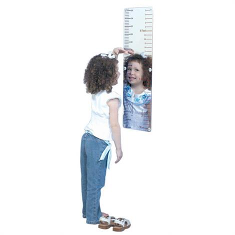 "Childrens Factory Measure Me Mirror,30.5"" x 10.5"" x 0.06"",Each,CF332-134"