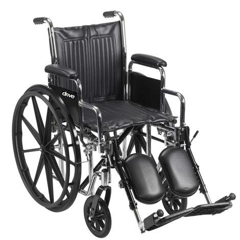 Drive Chrome Sport Wheelchair,0,Each,0