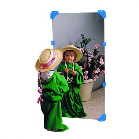 "Childrens Factory Wall Mirror,12"" x 48"",Each,CF332-133"