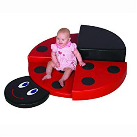 "Childrens Factory Ladybug Climber,54"" x 40"" x 10"",Each,CF322-374"