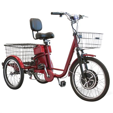 EWheels EW-29 Electric Trike Tricycle Scooter,Red,Each,EW-29R EWHEW-29R