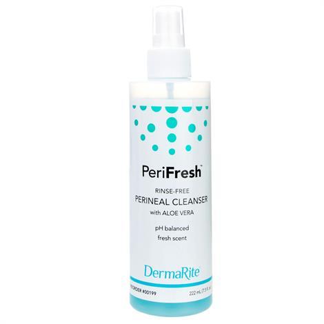 DermaRite PeriFresh Cleanser and Deodorizer,7.5oz Spray,48/pack,199