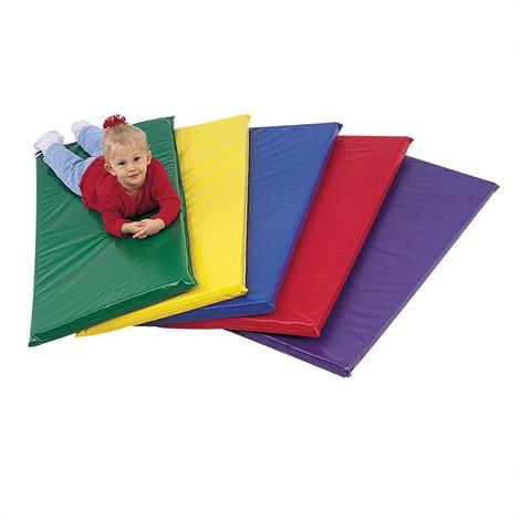 Childrens Factory Rainbow Non-Folding Rest Mats,Blue,Each,CF350-019