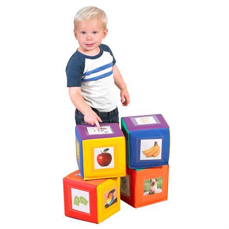 Childrens Factory See-Me Blocks,Set of 4,Each,CF805-035