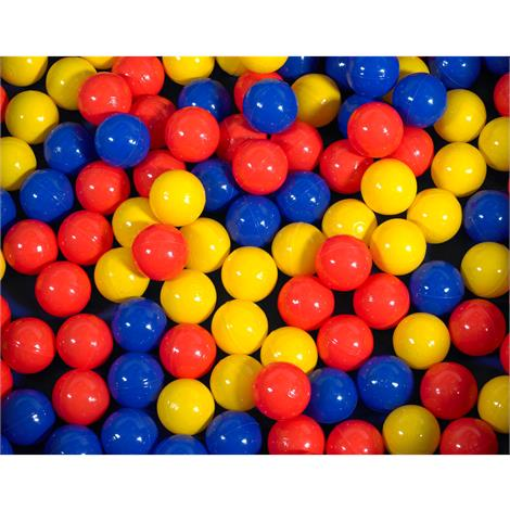 Childrens Factory Mixed Color Balls,75 Mixed Color Balls,Each,CF331-531