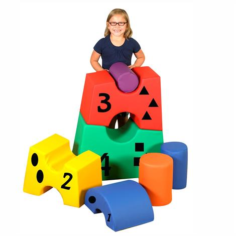 Childrens Factory Stacking Tower Blocks,Stacking Tower Blocks,Each,CF805-025