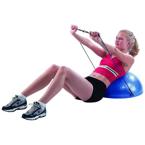 "CanDo Core-Training Vestibular Dome With Resistance Cords,21"" x 5"" x 21"",Each,#30-1902"