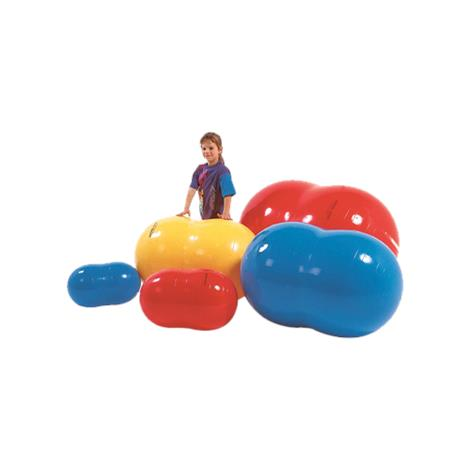 """Image of PhysioGymnic Inflatable Exercise Rolls,36"""" x 22"""" x 22"""" (55 cm),Yellow,Each,30-1722"""