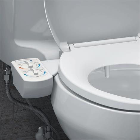 Brondell FreshSpa Dual Bidet Toilet Attachment,Bidet Toilet Attachment,Each,FSW-20