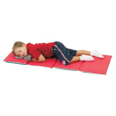 Childrens Factory Pillow Rest Mat,Red/Green,Each,CF400-001