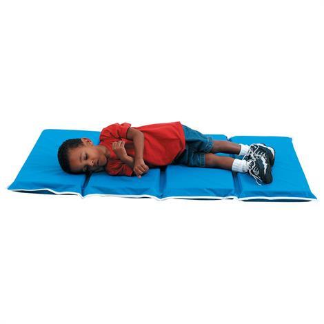 "Childrens Factory Tough Duty Folding Rest Mat,1"" Tough Duty Mat,24""L x 12.5""W x 4.25""H,Each,CF400-002"