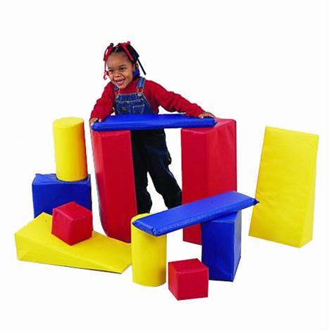Childrens Factory Builder Blocks Set,12 Piece Set,Each,CF362-512