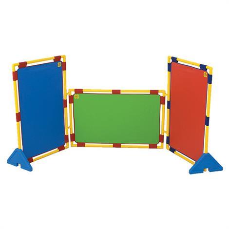 Childrens Factory Rectangular Rainbow PlayPanel Set,30.5 x 47.5,Each,CF900-539