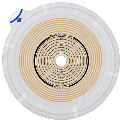 "Coloplast Assura AC Two-Piece Convex Light Standard Wear Baseplates - Pre-Cut,Stoma Size 1-1/4"" (31mm),Medium,Red,5/Pack,14645"