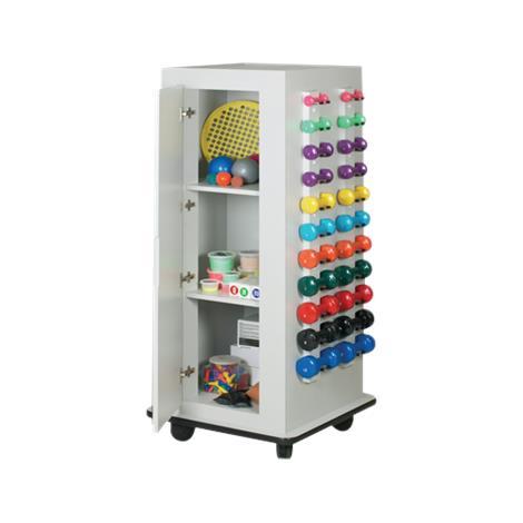 CanDo Mobile MaxRac Storage Unit,With Mirror,Each,#10-5121