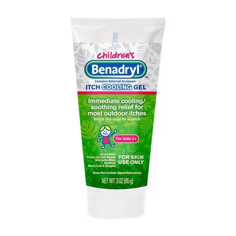 Benadryl Original Strength Kidz Anti Itch Gel,3oz Tube,Each,17103