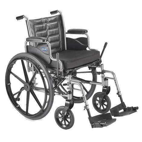 "Invacare Tracer EX2 18"" x 16"" Frame With Removable Desk Length Arm Wheelchair,18"" x 16"",Each,TREX28RP"