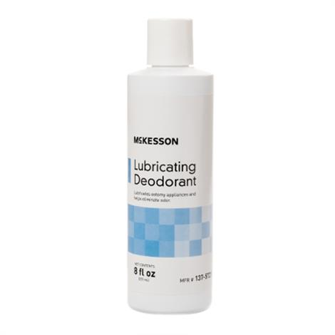 McKesson Ostomy Lubricating Deodorant,Lubricating Deodorant,8 oz,Each,137-5721