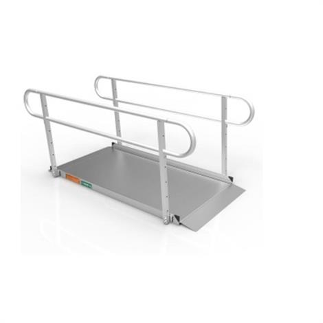 Ez-Access Gateway 3G Solid Surface Ramps,10ft. Ramp Only,Each,GATEWAY3G10