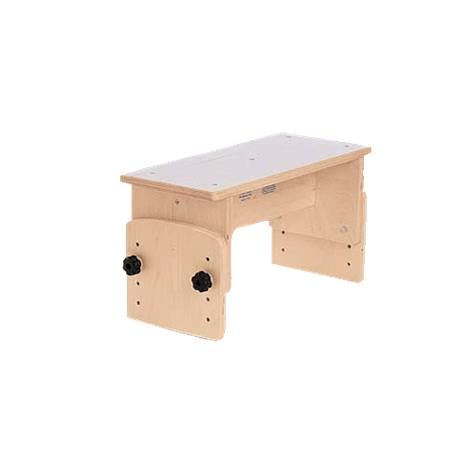 TherAdapt Adjustable Straddle Bench,Early Intervention/Preschool,Each,ASB-100 TEPASB-100