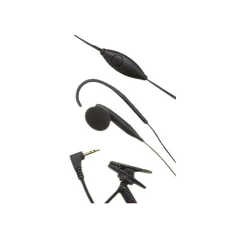 ClearSounds Single Silhouette Hook and Earbud,Silhouette with Earbud,Each,CSCL003