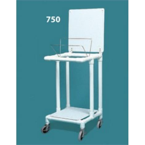 Duralife Economy Laundry Hamper Stand With Twin Wheels,0,Each,750