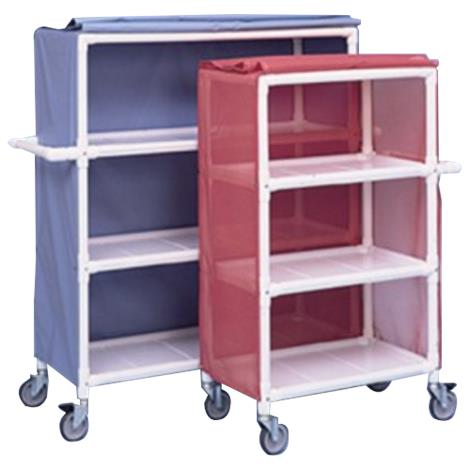 Duralife Linen Cart With Removable Shelves,0,Each,400