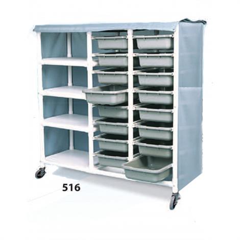 Duralife Shelf And Drawer Cart,0,Each,516