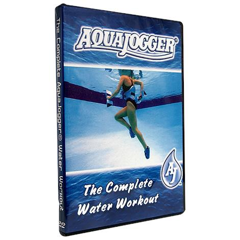Aquajogger Complete Water Workout DVD,DVD,Each,AP155