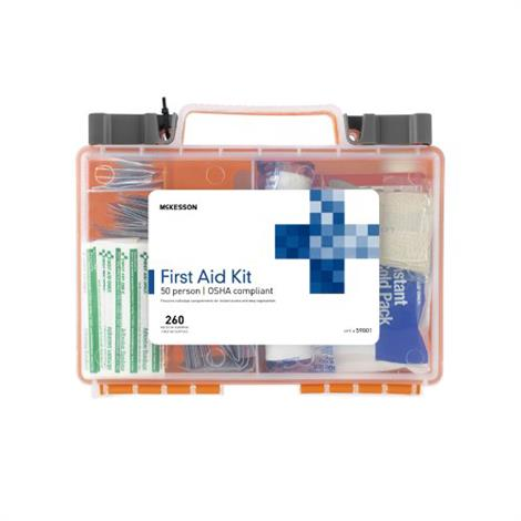 McKesson 50 Person First Aid Kit,First Aid Kit,12/Case,59812010