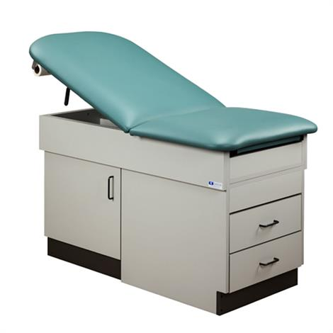 Clinton Space Saver Cabinet Style Treatment Table,0,Each,8834