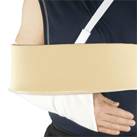 AT Surgical Arm Sling Support And Shoulder Immobilizer With Foam Swathe,Blue,Each,3102