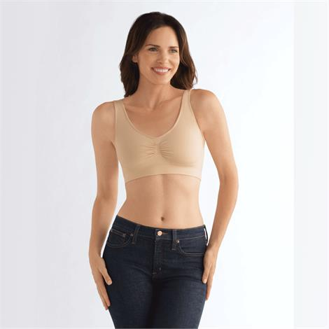 Amoena Becky Non Wired Bra,Nude,Small,Each,44418-S