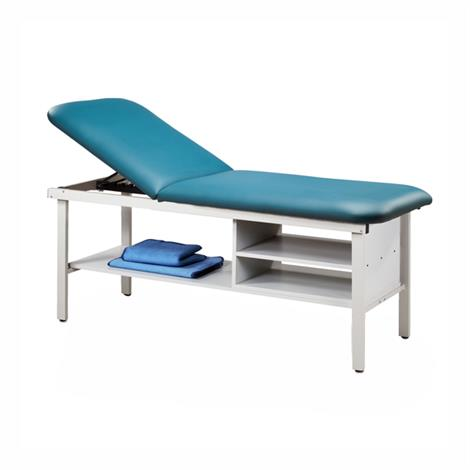 Clinton Eco-Friendly Steel Treatment Table with Shelving,0,Each,83030