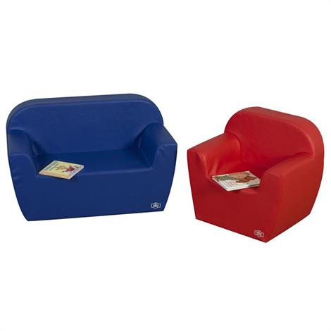 """Childrens Factory Primary Club Seating,2 Piece,52.375"""" x 40"""" x 23.5"""",Each,CF705-578"""