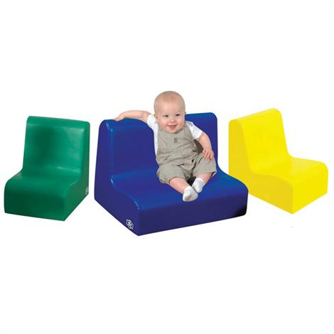 """Childrens Factory Little Tot Primary 3 Piece Contour Seating,58"""" x 15"""" x 15"""",Each,CF705-686"""