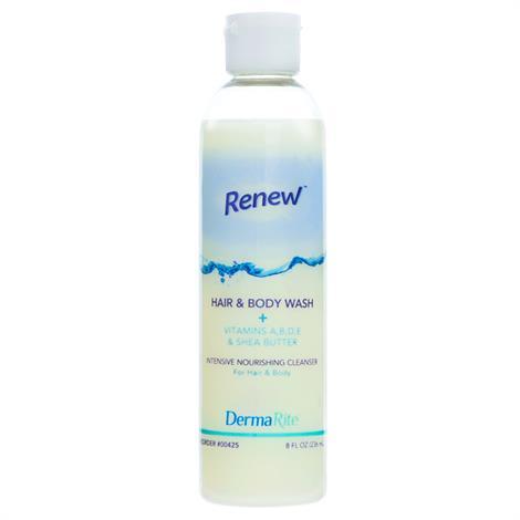 Dermarite Renew Hair and Body Wash,8 oz,24/Case,425