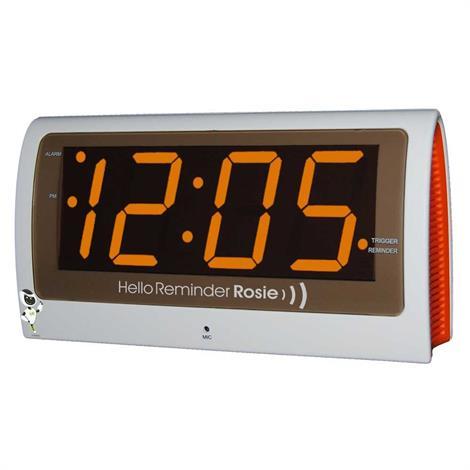 "Reminder Rosie Personalized Voice Alarm Talking Clock,8"" W X 4-1/4"" H X 2-3/4"" D,Each,Rr/Clock"