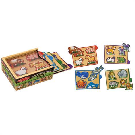 Melissa & Doug Mini Puzzle Pack,Vehicles,Each,4791